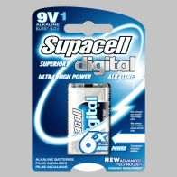 See more information about the Single 9V Supercell Digital Battery