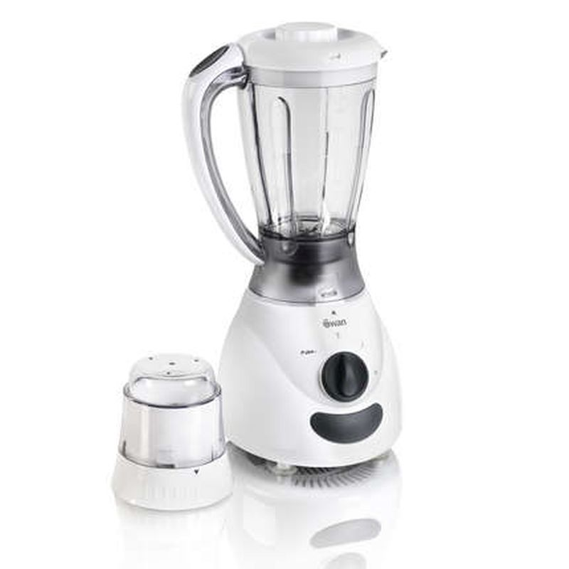 1.2L White Blender and Grinder SP12020N