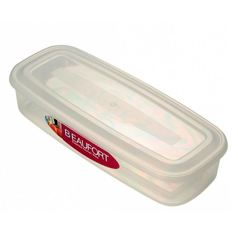 Beaufort 1Lt Oblong Bacon Food Container