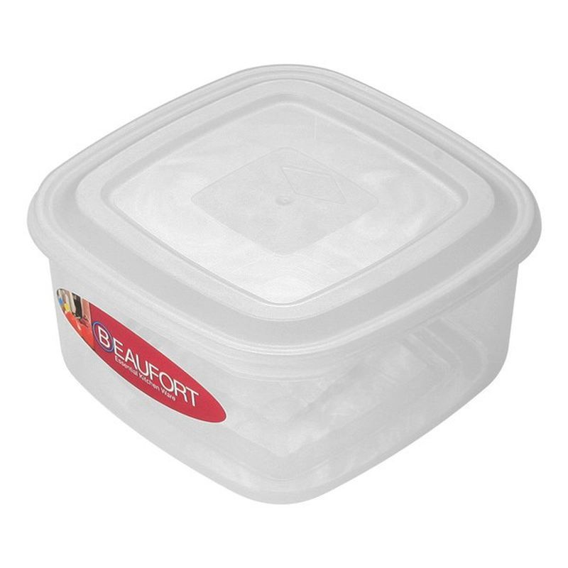 Beaufort 1Lt Square Food Container