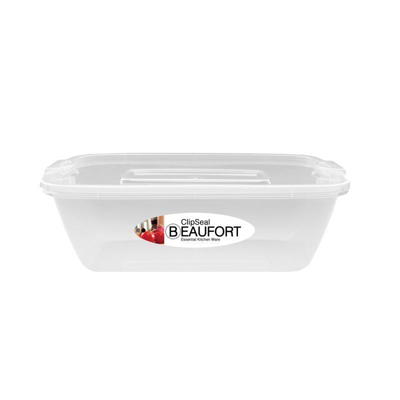 Clipseal Rectangular Food Container 2L