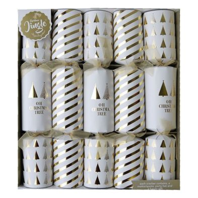 10 Deluxe Crackers - Oh Christmas Tree