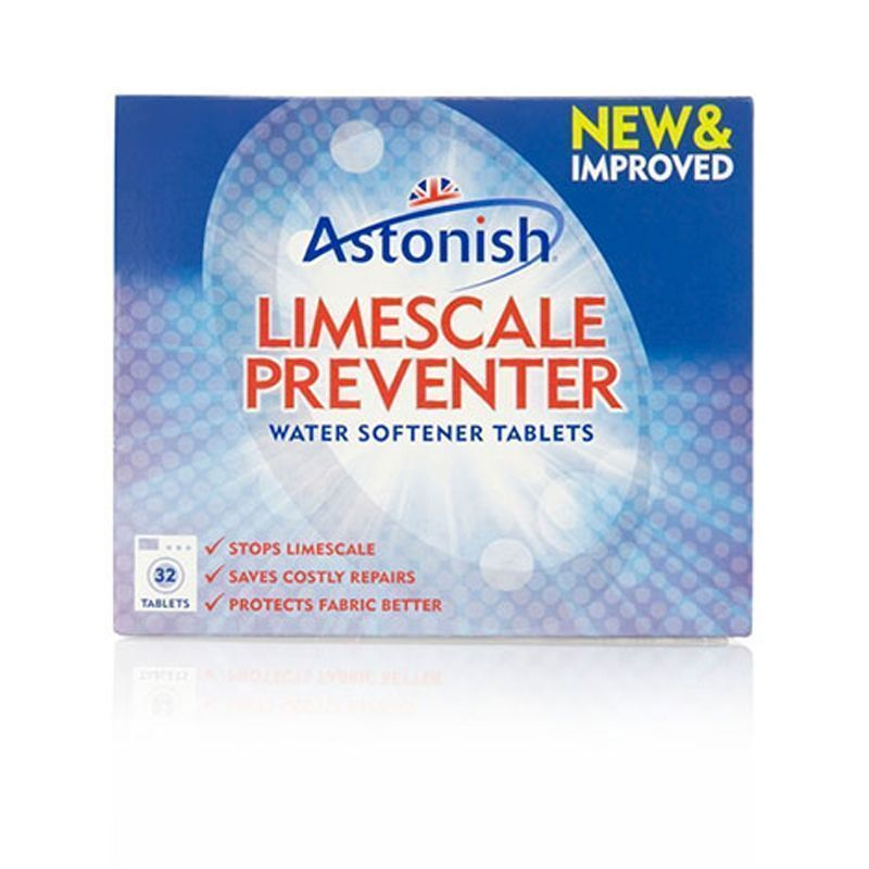 Astonish Limescale Preventer Water Softener Tablets (32 Pack)