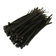 See more information about the 100 Pack 10 Inch Black Cable Ties (3.5mm)