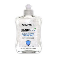 See more information about the Enliven Hand Gel Cucumber & Garden Mint 500ml