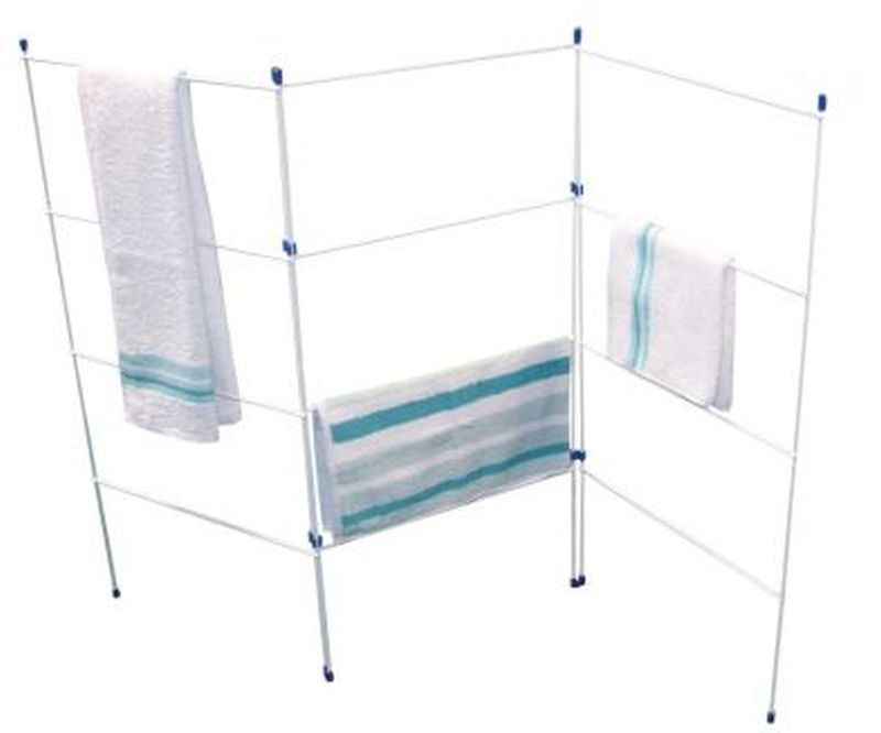 3 Fold Gate Clothes Airer Buy Online At Qd Stores