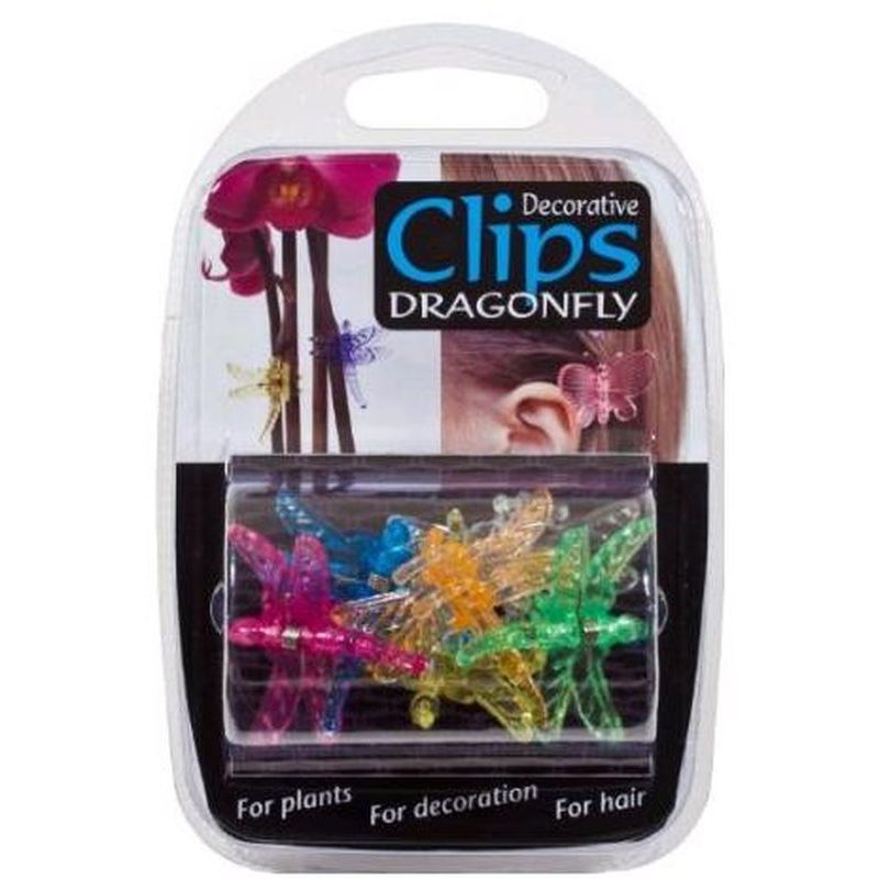 6pk Dragonfly Clips