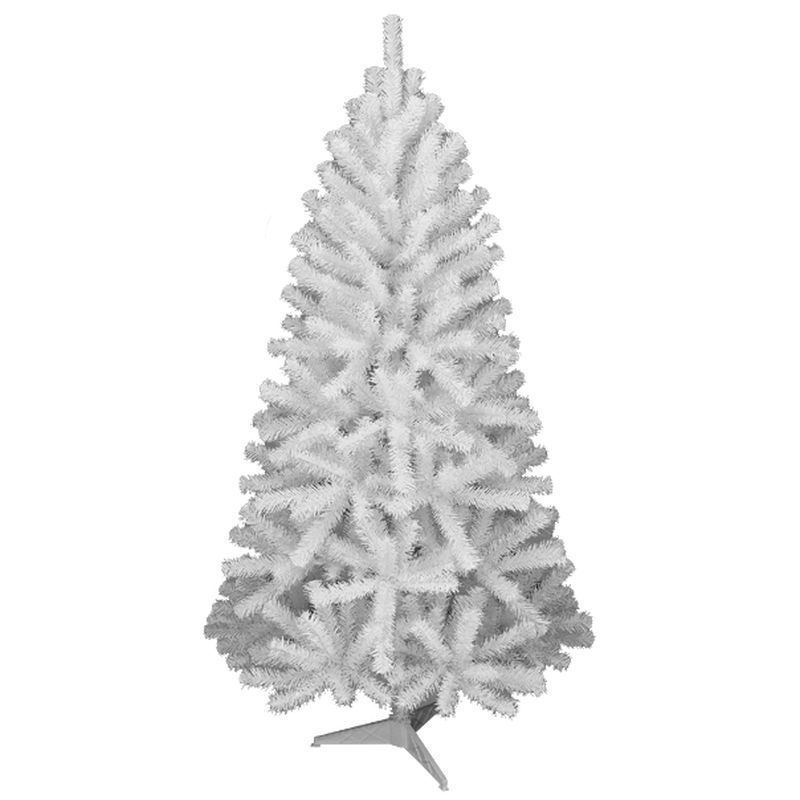 180cm (6 Foot) White Oncor Pine 440 Tips Christmas Tree