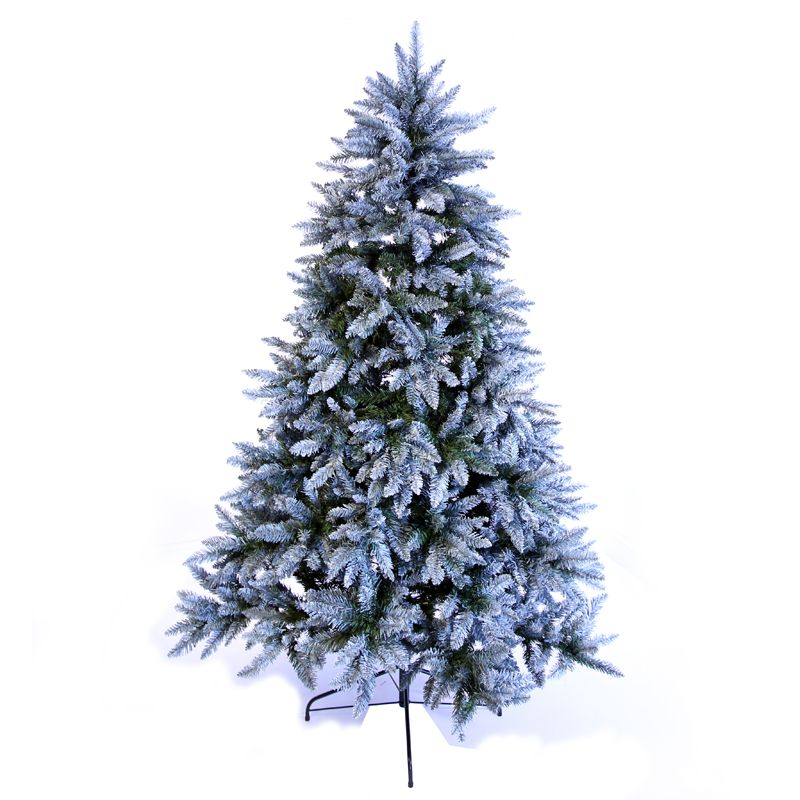 7 Feet (210cm) Frosted Silver Fir Tree