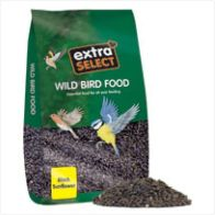 See more information about the Extra Select Black Sunflower Wild bird Seed (12.75kg)