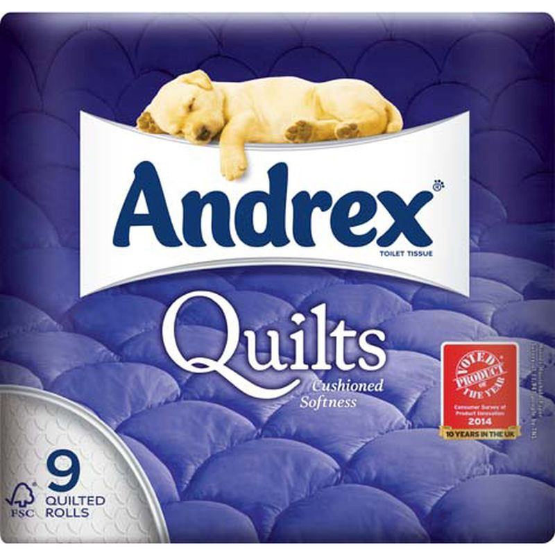 Andrex 9 Roll Quilts