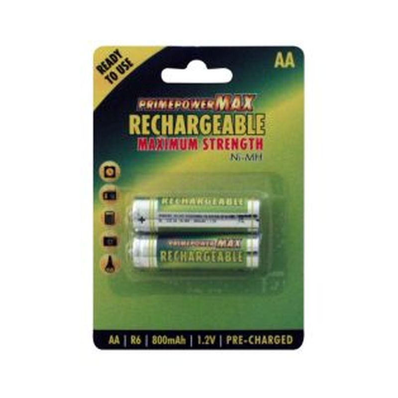 2pk rechargeable AA batteries