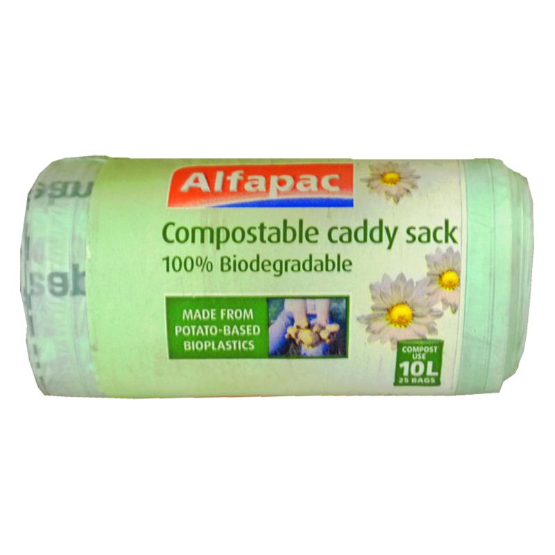 10L Caddy Sack Compostable