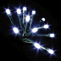 See more information about the 100 LED White Indoor Ainimated Christmas Lights Mains 7m