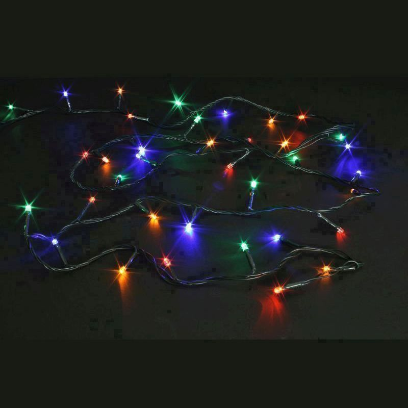 240 Indoor Animated Christmas Fairy Lights Mains 16M