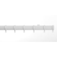 See more information about the Universal White Plastic Curtain Track 1.25m