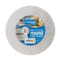 See more information about the Kingfisher Round Cake Board - Medium