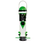 See more information about the Roll-Top Seed Feeder 4 Port Green/Black