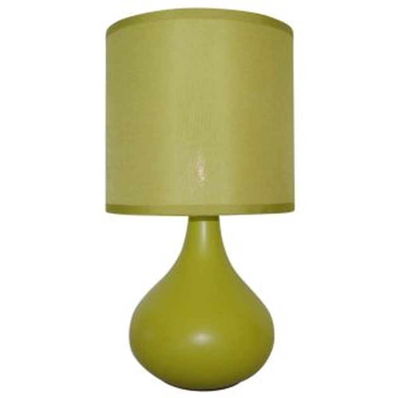 Teardrop Table Lamp Green