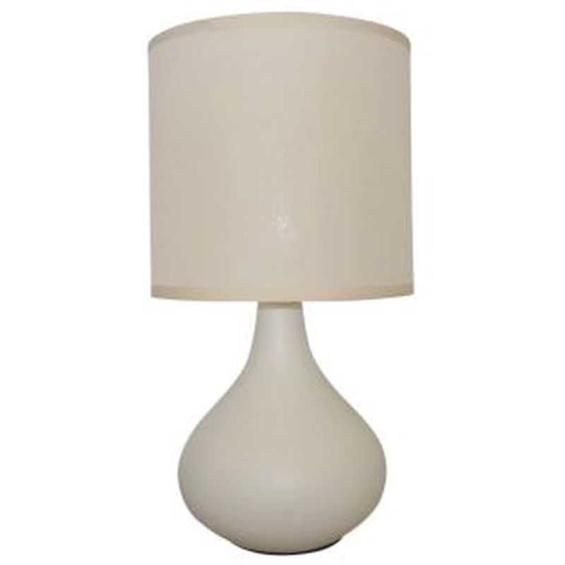 Teardrop Table Lamp Cream