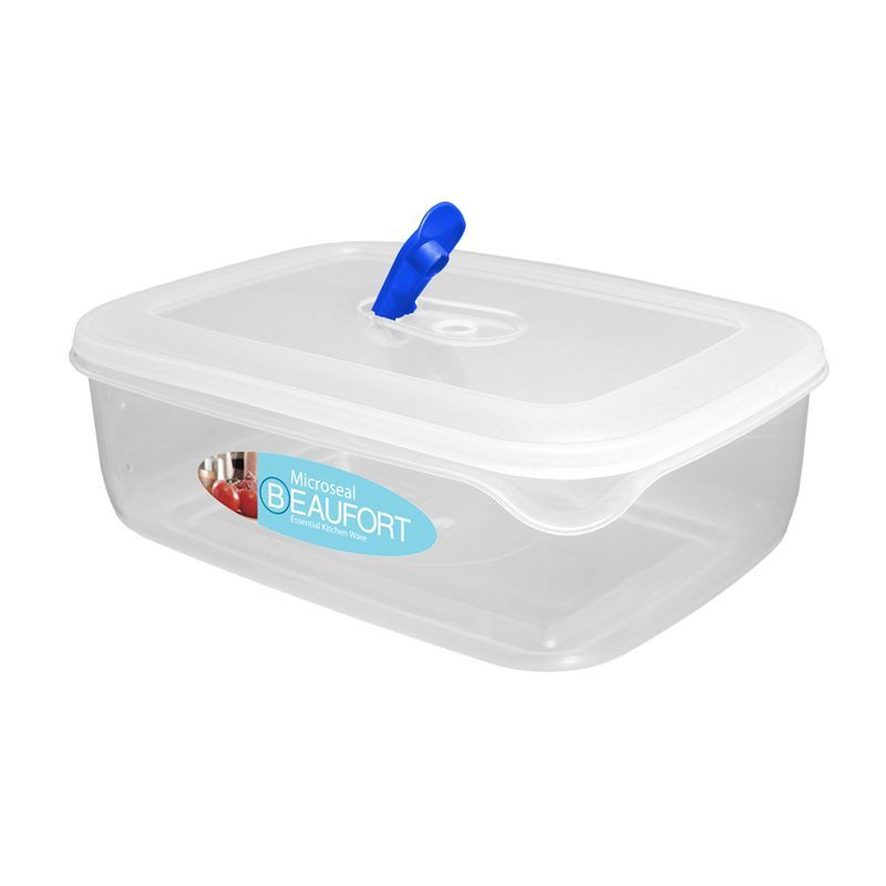Microseal Rectangular Food Container 3.5L
