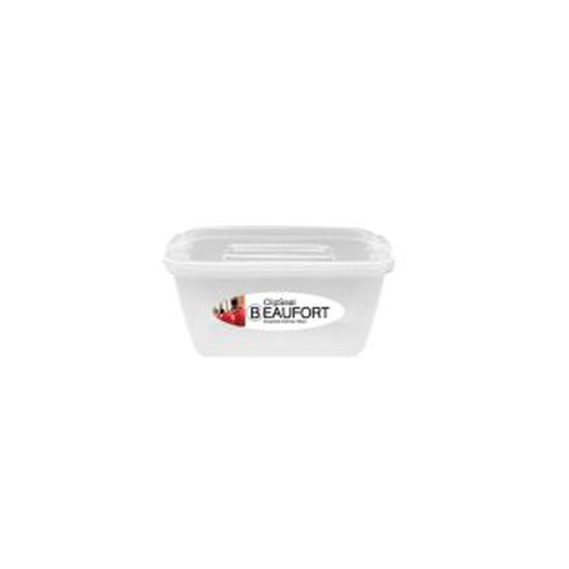 Clipseal Square Food Container 1L