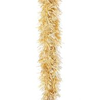 See more information about the 2m x 125mm Chunky Cut Traditional Christmas Tinsel - Gold