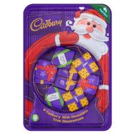 See more information about the Cadbury Parcel Tree Decorations