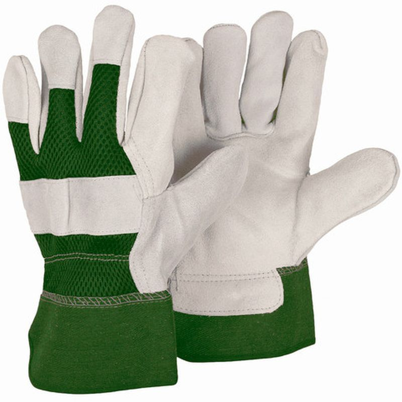 Briers Reinforced Rigger Gloves Green
