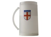 See more information about the England Football Supporters Frosty Mug with 3 colour England Logo