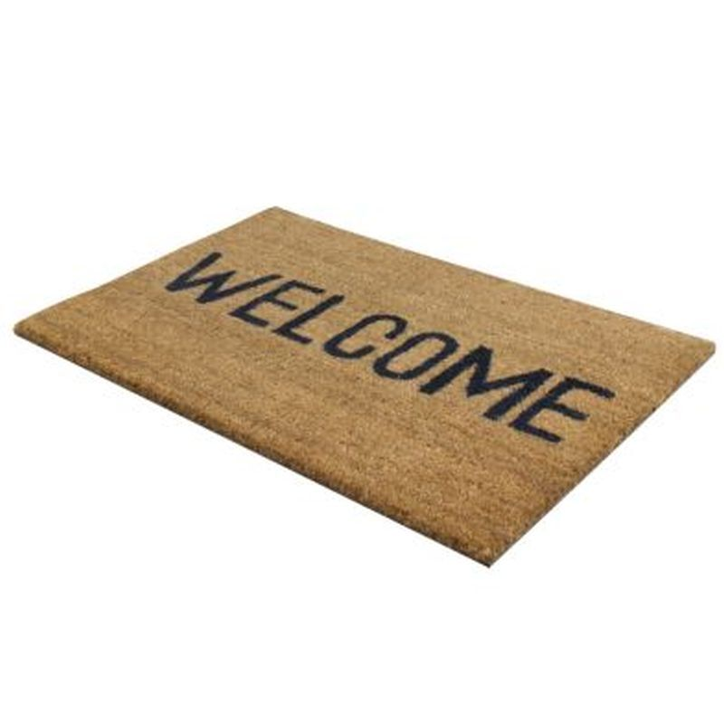 Welcome PVC Coir Doormats