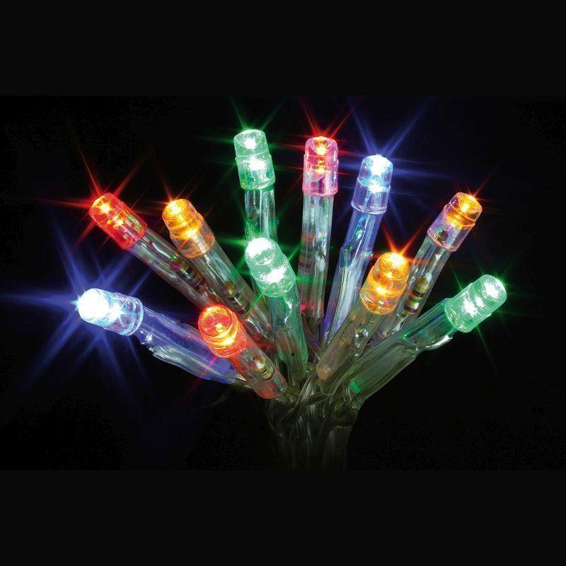 Outside Fairy Lights B Q: 20 LED Multicolour Indoor Christmas Fairy Lights Battery