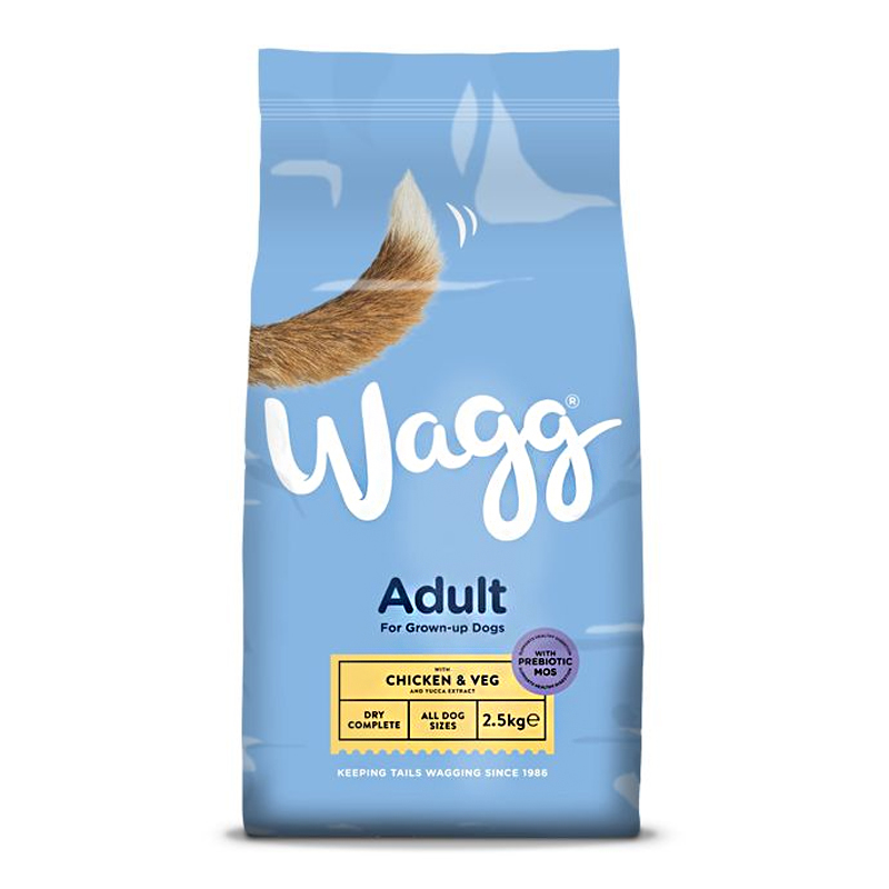 Wagg Complete Chicken & Vegetable Dog Food 2.5kg
