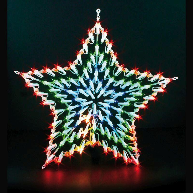 Star Christmas Window Light 100b Buy Online At Qd Stores