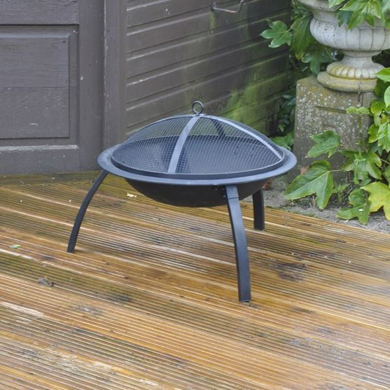 Barbecue Patio Fire Pit Heater 55cm