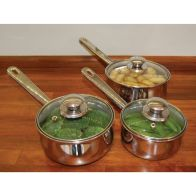 See more information about the 3 Piece Saucepan Set