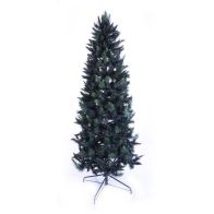 See more information about the 210cm (6 Foot 10 inch) Green Slim Parana Pine 578 Tips Christmas Tree