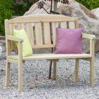 See more information about the Caroline Two Seater Bench