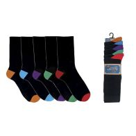 See more information about the 5 Pack Mens Heel & Toe Socks