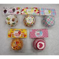 See more information about the 100 Cup Cake Cases (50mm)