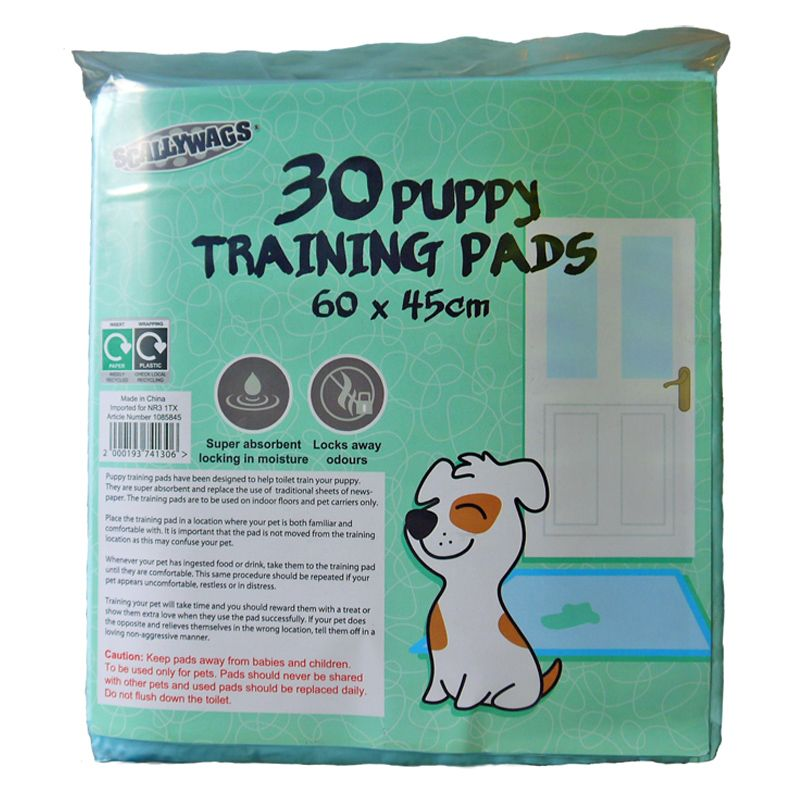 30 Pack Puppy Training Pads (60cm x 45cm)