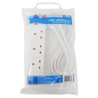 See more information about the Status 4 Way Indoor Mains Extension Socket Lead 1m