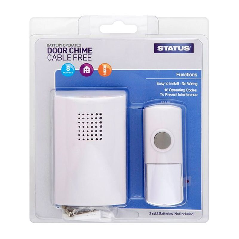 Status Battery Operated Door Chime Kit