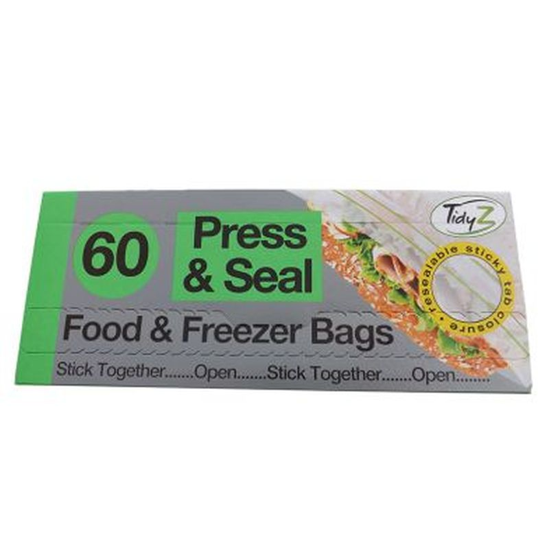 60 Food Bags Press and Seal