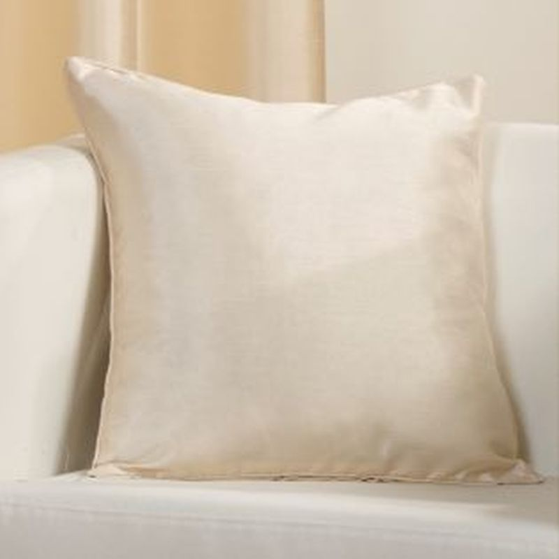 Faux Silk Cushion Covers Cream Buy Online At Qd Stores