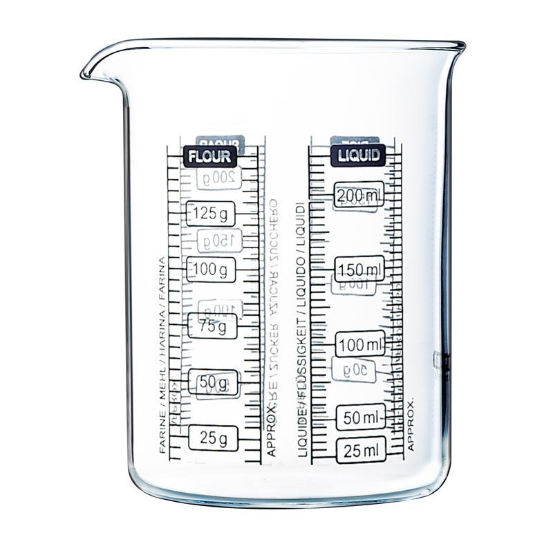 Pyrex Kitchen Lab 250ml Measure + Mix