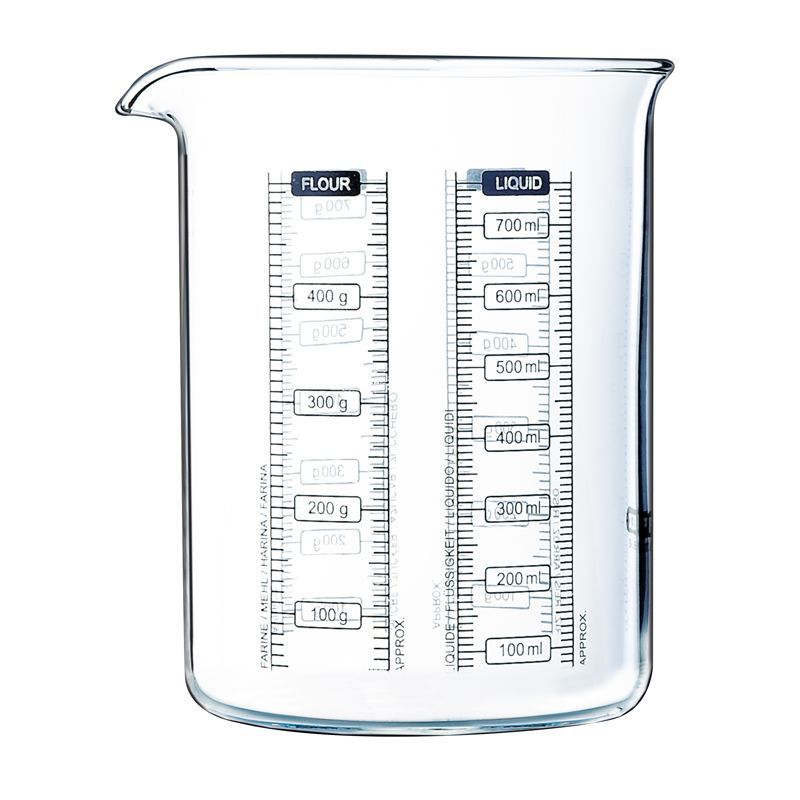 Pyrex Kitchen Lab 750ml Measure + Mix