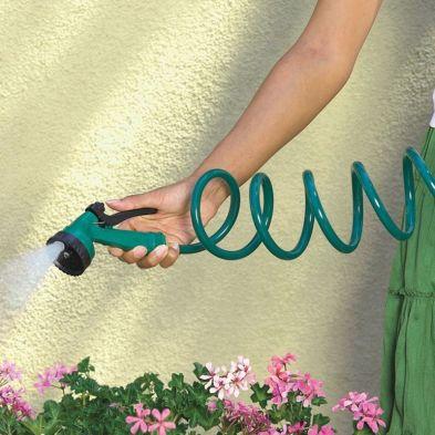 30m Coil Hose & Adjustable Spray Gun