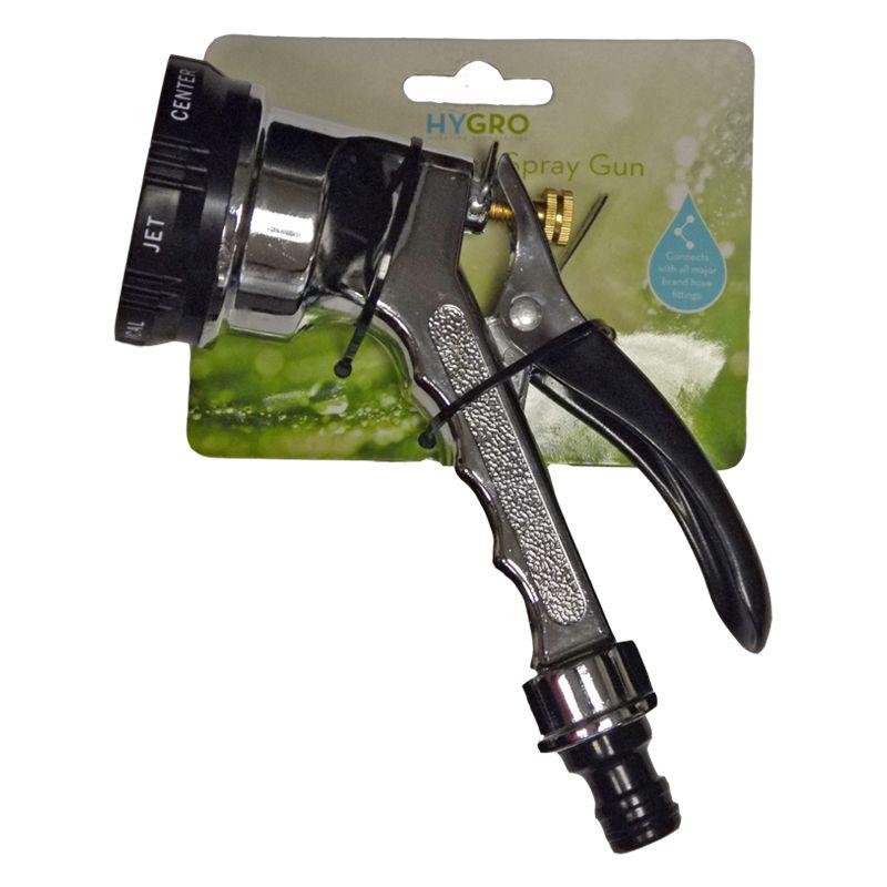 Chrome Multi Dial Garden Spray Gun