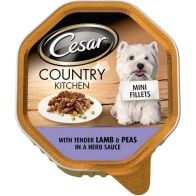 See more information about the Cesar Country Kitchen lamb & Pea AB52G